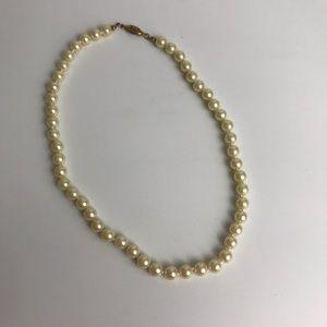 Vintage Avon Faux Pearl Necklace Clasp